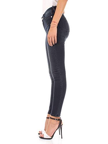 Calvin Klein Mujer Jeans Azul Skinny West Negro Super rfqrvRwxF