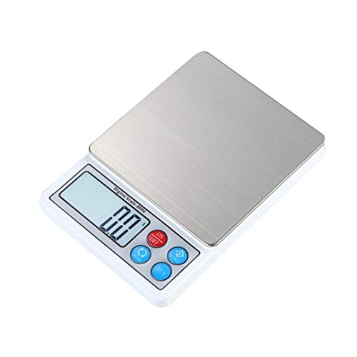 Digital Scale,LtrottedJ 2000g/0.1g Precision Digital Scales ,for Gold Jewelry Weight Electronic Scale by LtrottedJ