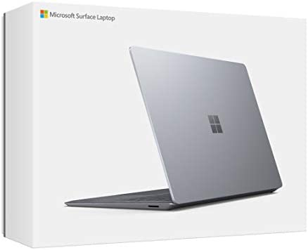 "Microsoft Surface Laptop 3 – 13.5"" Touch-Screen – Intel Core i5 - 8GB Memory - 128GB Solid State Drive (Latest Model) – Platinum with Alcantara"