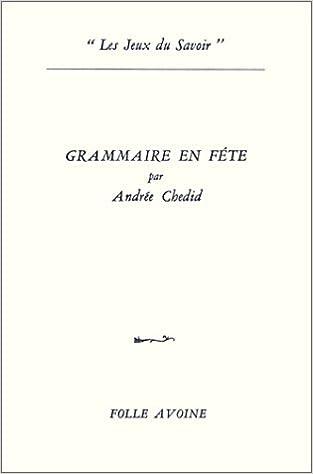 Livre gratuits Grammaire en fête pdf, epub