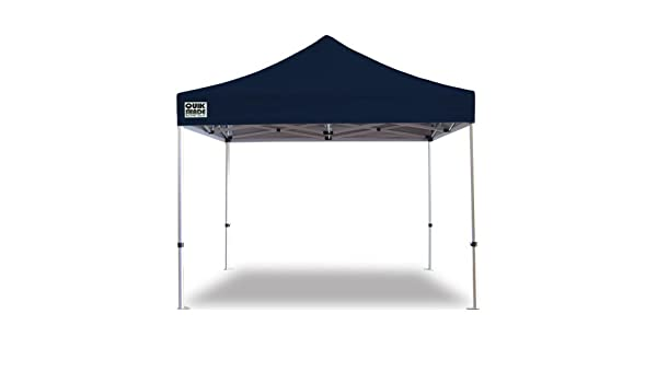 GAZEBO PLEGABLE QUIK SHADE 3 X 3 MT-MOD. ELITE ALU COLOR AZUL MARINO: Amazon.es: Jardín