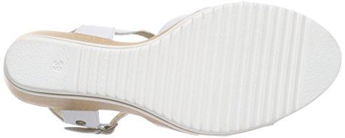 Panama Jack Estrella - Sandalias Mujer Weiß (White) (Napa)