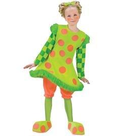 Clown Lolli Costumes (Lolli the Clown Child Costume - Medium)
