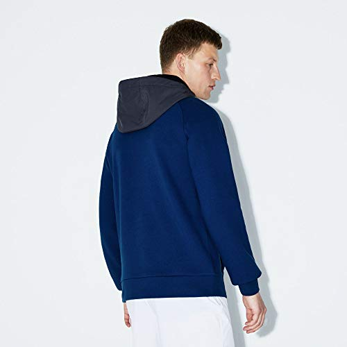 Homme noir Sport shirt phar Sweat Lacoste Sh9489 graphite Scille q6txzw0