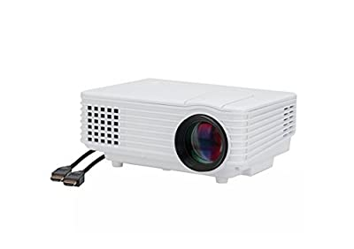FAVI H1 LED LCD (WVGA) Mini Video Projector Kit, includes 1 item - projector only - Black