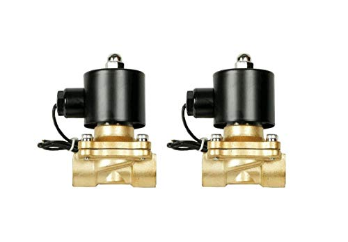 0.375' Solenoid - Pair air Ride Suspension Brass valves 0.375''(3/8) npt Electric Solenoid Quick Delivery