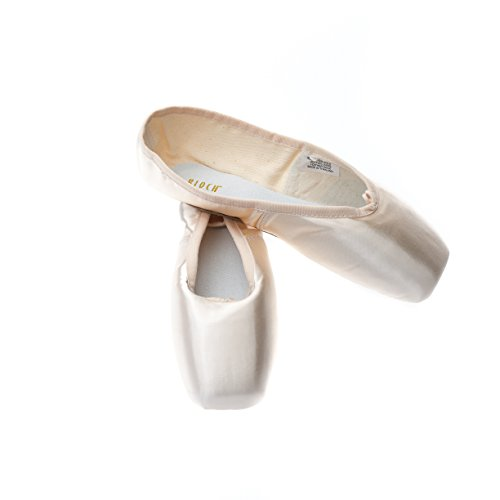 131 serenade bloch pointe shoes size 3 c width free ribbon by Bloch