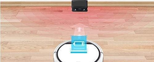 FENGTING W Aspirateur Robot Accueil menagers Professionnel Balayer Machine for Cheveux Anti Collision Pet Recharge Automatique