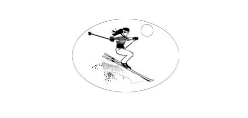 Knockout 549H Skier Hitch Cover