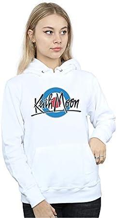 Keith Moon Mujer Mod Logo Capucha