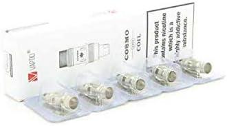 Pack de 5 resistencias de Cosmo Vaptio C1 MTL 1.6 Ω: Amazon.es ...
