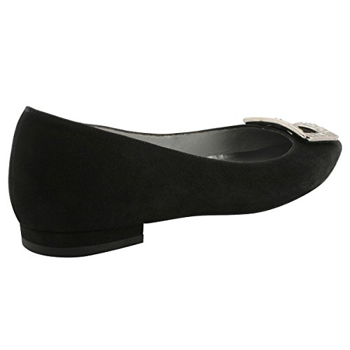 Flats Exclusif Women's Paris Black Ballet w4xtAXxq