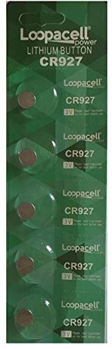 Loopacell Lithium 3V Batteries CR927 5 Pack -