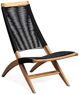 Patio Sense Lisa Lounge Chair, Natural