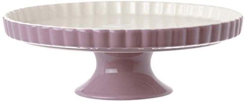 - 'PORCELLANA' Arezzo Cake Stand cm 23 Lilac, Porcelain 0.1 x 0.1 x 0.1 cm