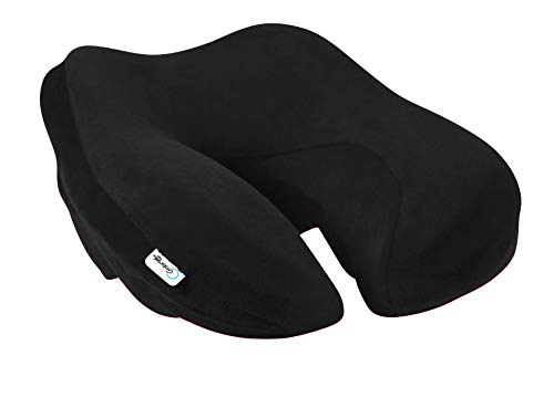 Corrective Cervical Neck Pillow - Superior Head & Neck Support - Wellness Pillow - Jet Black Neck Sofa