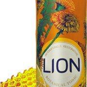 LION Tea - Whole Plant Dandelion Tea Lemon and Honey 10 ounce 12 pack - Prebiotic, Nutrient Rich and Refreshing - Plant Dandelion Whole