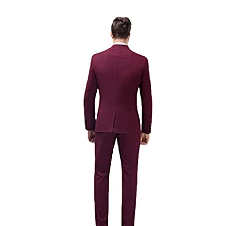 mys Men de Custom Made Classic Notch Traje Pantalones Tie ...