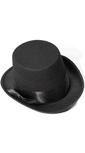 Topper Hats (Forum Novelties Steampunk Bell Topper Hat (Black)-Standard)