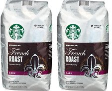 2 Packs of 40 Oz Starbucks French Roast Whole Bean Coffee = 2 x 40 Oz = 80 Oz