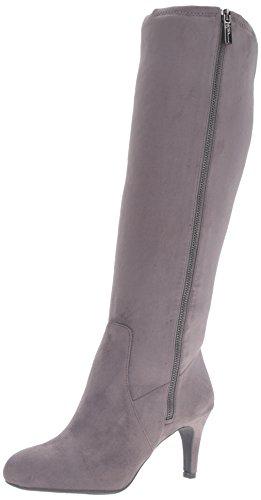 BCBGeneration Women's Rocko Knee-High Tall Boot, Steel/Gunmetal, 7 M US by BCBGeneration