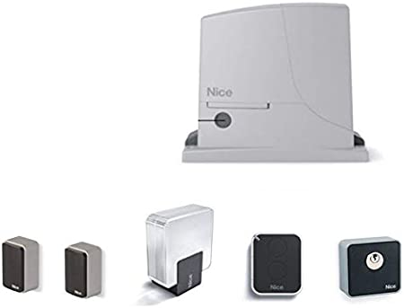 Dieffematic Nice ROX 600 ROX600KCE - Kit automático para Puerta corredera (600 kg, 230 V): Amazon.es: Hogar