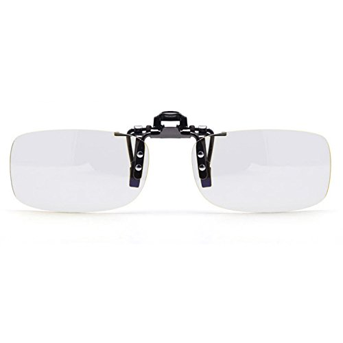 Anti Blue Ray Clip On Eyeglasses Computer Reading Glasses Eye Strain Protection