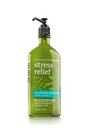 Lotion d'aromathérapie de 6,5 oz Bath & Body Works Eucalyptus menthe verte