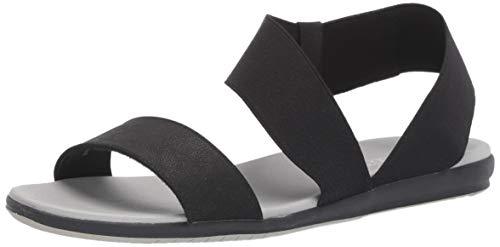 (Aerosoles Women's Watch Box Flat Sandal, Black, 8 M US)