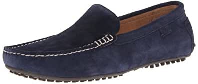 Polo Ralph Lauren Men's Woodley Slip-On Loafer,Navy,7 D US