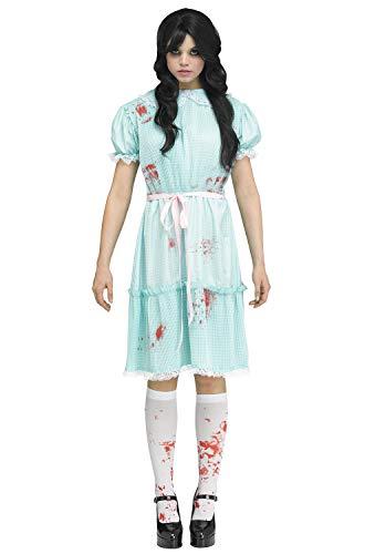 Siamese Twins Costumes Ideas - Fun World Twisted Twin Adult Costume-Small/Medium