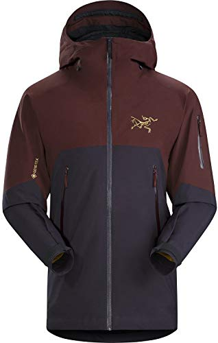 Arc'teryx Rush Insulated Gore-Tex Ski Jacket Black Baccara Mens Sz L