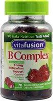 Vitafusion Boost B, Gummy vitamines, fraises des bois 70 ch