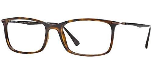 Ray-Ban Men's RX7031 Eyeglasses Dark Havana 53mm