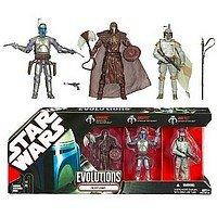 Star Wars Evolutions 3 Pack: The Fett Legacy ()