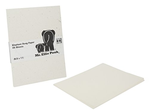 Mr. Ellie Pooh Elephant Dung Paper, 100 Sheet Ream (313-8...