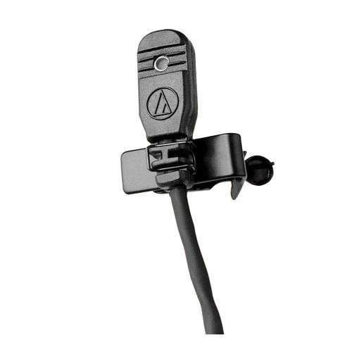 Audio-Technica OmniDirectional Condenser Lavalier Microphone MT830mW (Technica Condenser Omnidirectional Audio Mic)