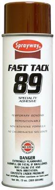 Sprayway 89 Specialty Adhesive 12 Pack.