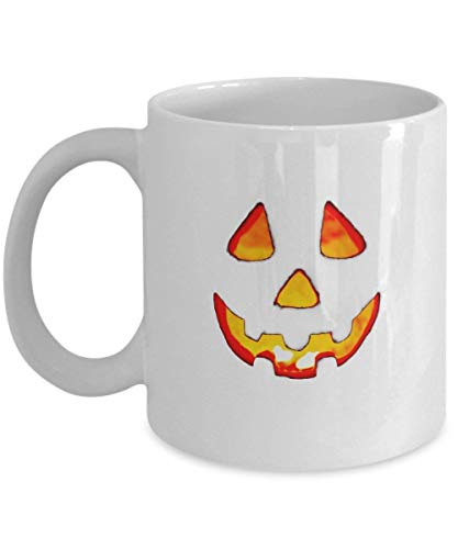 Creepy Clown Coffee Cup - Scary Halloween Gifts - 11 oz Ceramic Mug