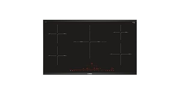 Bosch PIV975DC1E hobs Negro Integrado Con Placa Negro, Integrado, Con placa de inducci/ón, Vidrio y cer/ámica, 2200 W, 14,5 cm