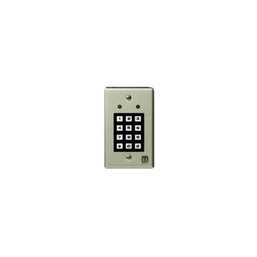 Corby 7120 Replacement Keypad - Indoor, Single-Gang - 2 LEDs by Corby