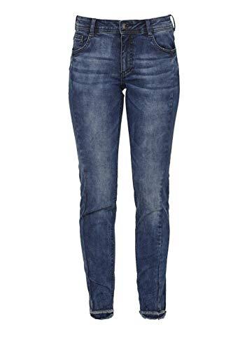 Jeans Blue Looze oliver Red Stretch Denim S Label Donna tXg7qxH