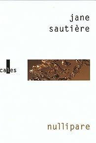 Nullipare par Jane Sautière
