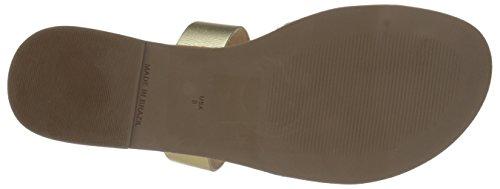 Calzado Sandal Slide Peanut Dorado Mujer Bc Fwxqnd4v4C