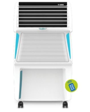 Symphony Touch 35 Ltrs Air Cooler (White) - with Remote Control