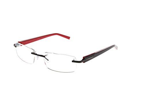TAG Heuer Men's 8104 Trends Rimless Designer Eyeglasses - 012 - Rimless Designer Eyewear