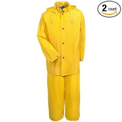 Amazon.com: Western seguridad amarillo traje de lluvia ...