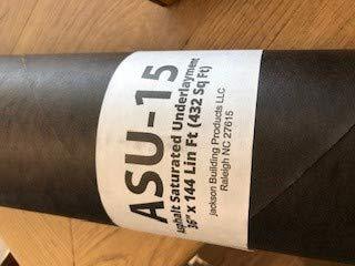 ASU-15 Hardwood Flooring Underlayment Felt Paper ()