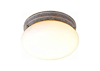 Volume Lighting V7008-22 2-Light Flush Mount Ceiling Fixture, Prairie Rock