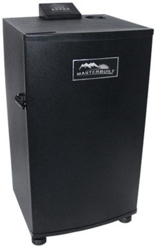 Masterbuilt 20070910 30-Inch Black Electric Digital Smoker, Top...